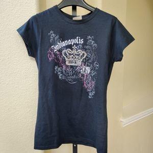 Printed Black T-shirt NWT